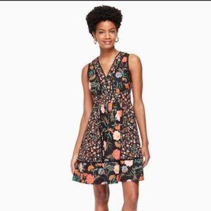 KATE SPADE Blossom Floral Fit & Flare Dress